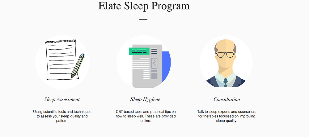 Elate Sleep Well Guided Programs