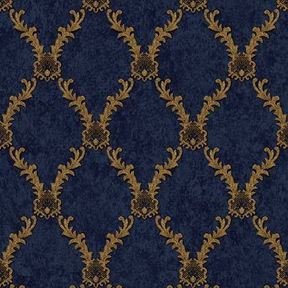 LifeNcolors-damask-pattern-wallpapers-blue-golden-metalic