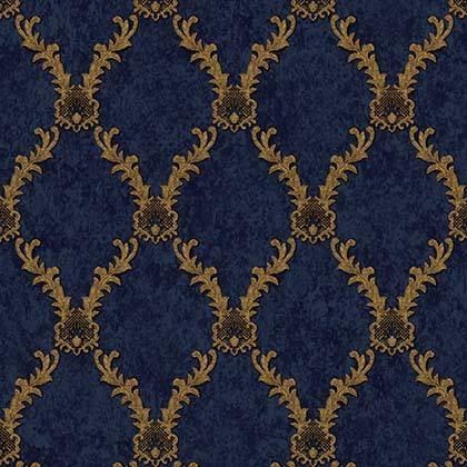 LifeNcolors-damask-pattern-wallpapers-blue-golden-metalic