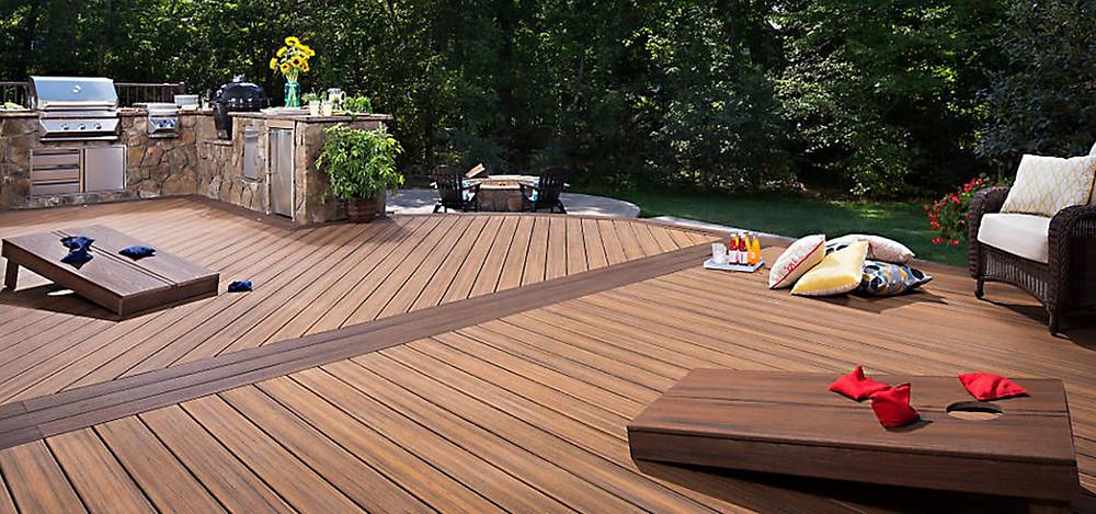 exterior deckwood