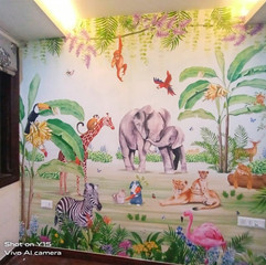Life N Colors Jungle Theme Kids Rooms
