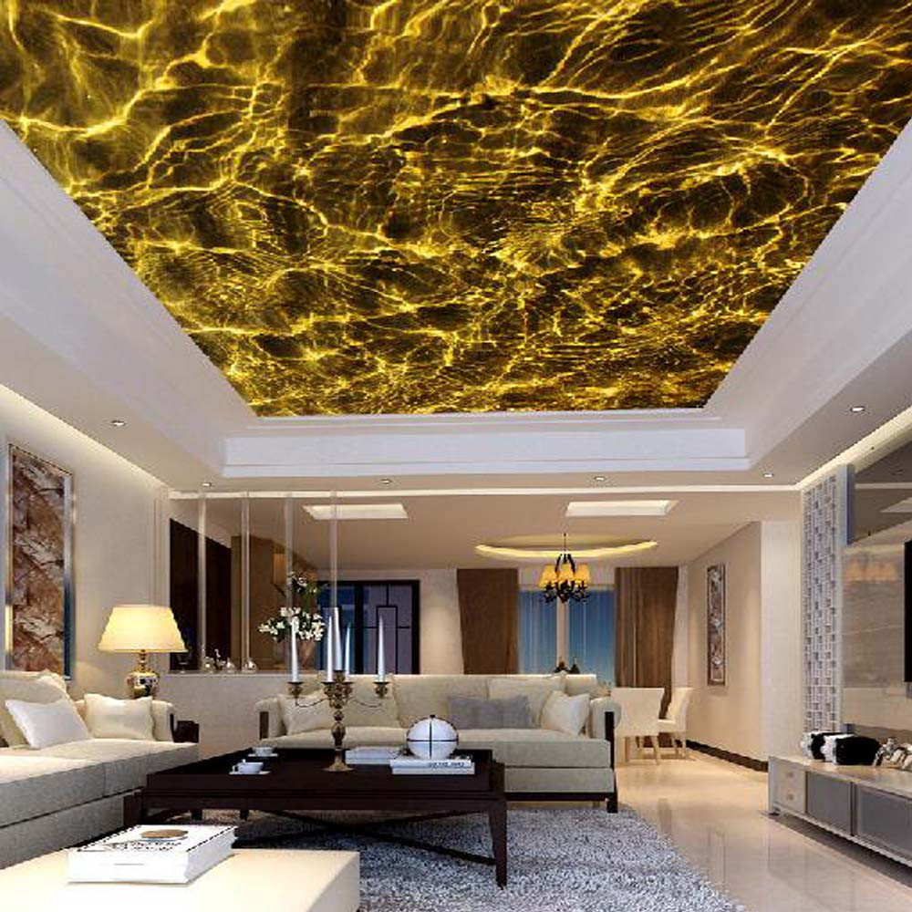 3D Wallpapers on ceiling Life N Colors