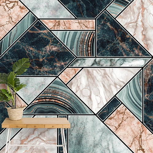 Modern Marble Pattern Wallpaper for Rooms