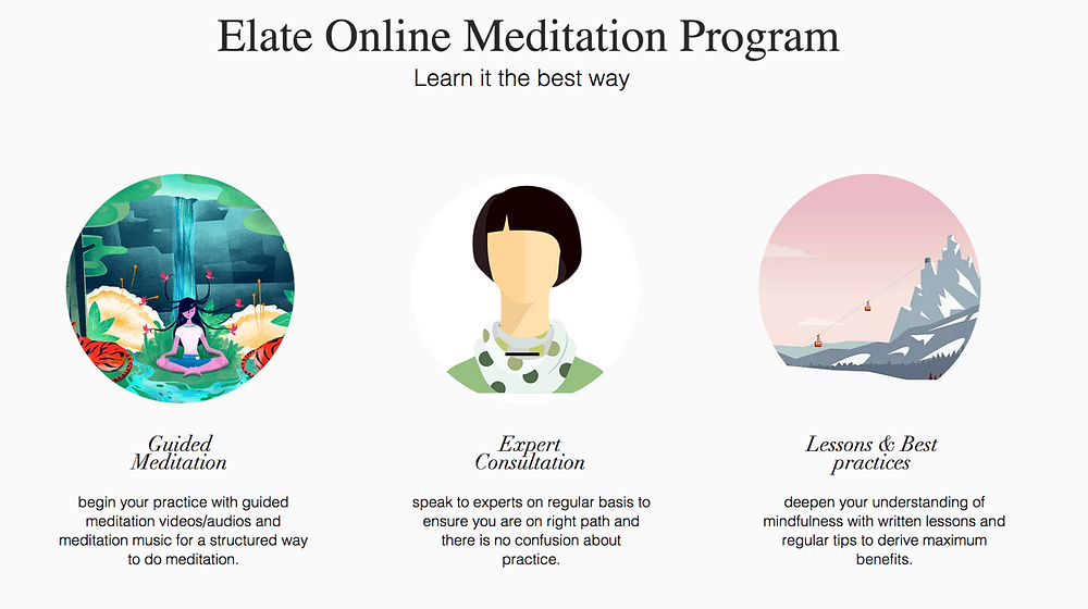Elate Guided Meditation Program