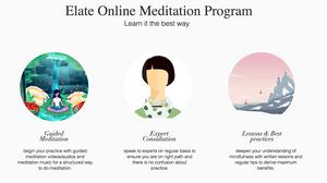 Elate Guided Meditation Program
