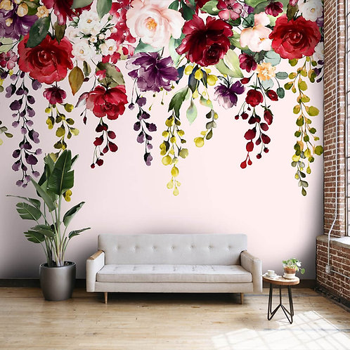 Hanging Floral Pattern for Beautiful Wallpaper