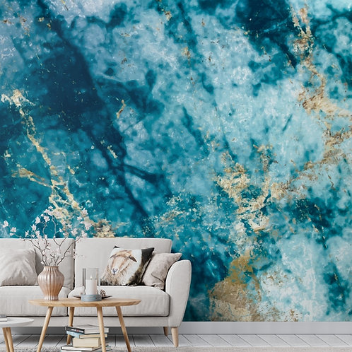 Natural Onyx Look Marble Wallpaper for Walls, Customised