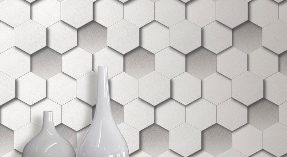 LifeNcolors-best-3D-wallpaper-hexagon-grey