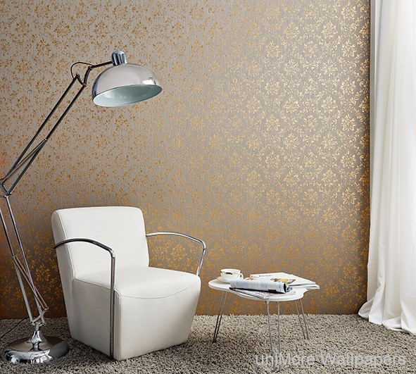 LifeNcolors-damask-pattern-wallpapers-beige-golden-metalic