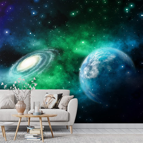 Galaxy Theme Wallpaper for Walls and Ceilings, Customised