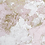 Beautiful Pink, White and Golden Marble Stone Abstract Room Wallpaper