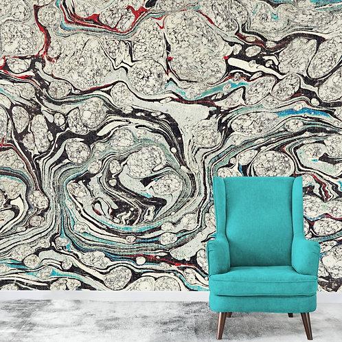 Abstract Natural Marble Wallpaper for Walls