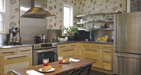 Ideas to transform your kitchen with wallpaper