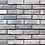 Thumbnail: White and grey brick wallpaper