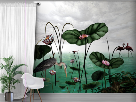 WALLPAPER TRENDS FOR SUMMER INTERIORS 2019