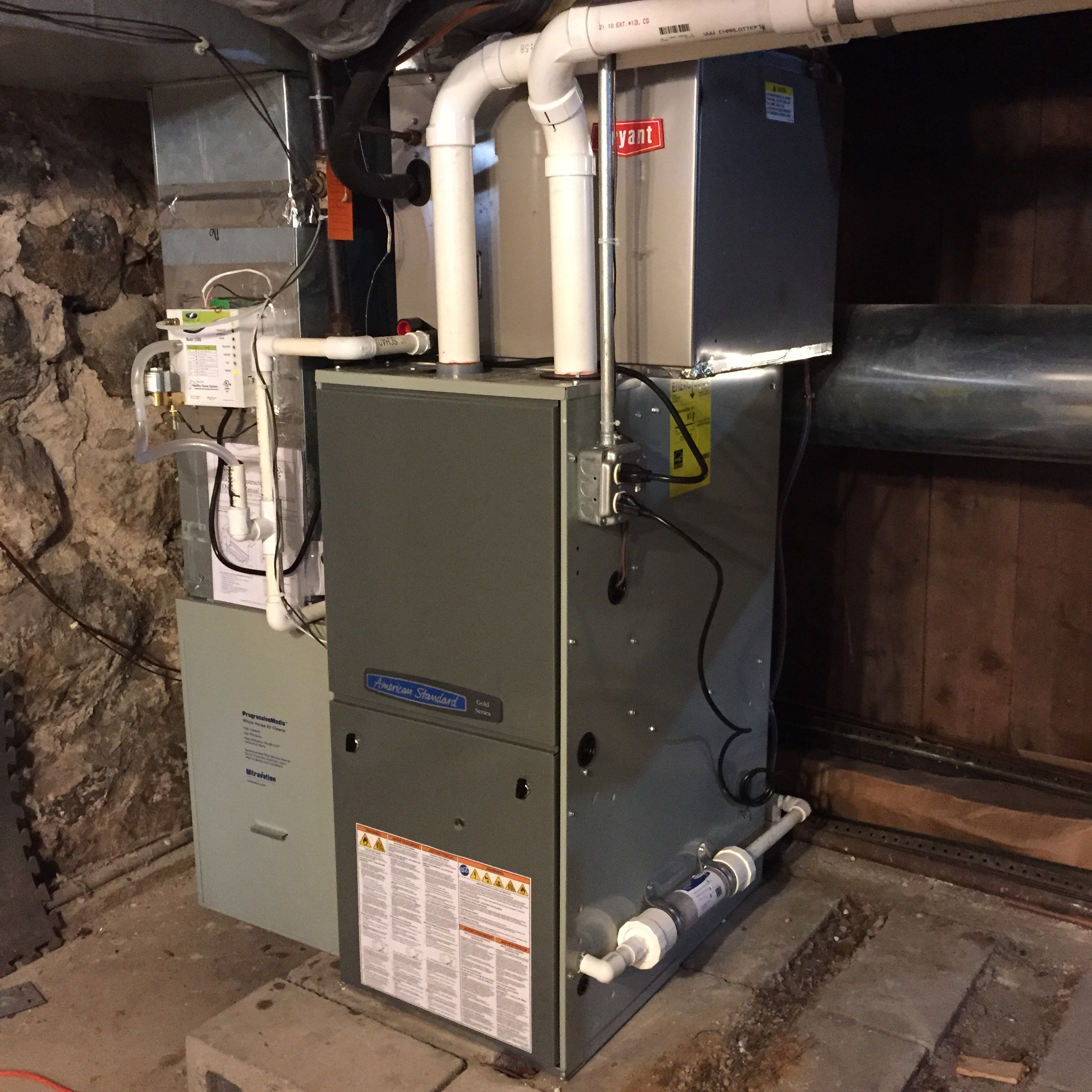 American Standard Furnace With AC