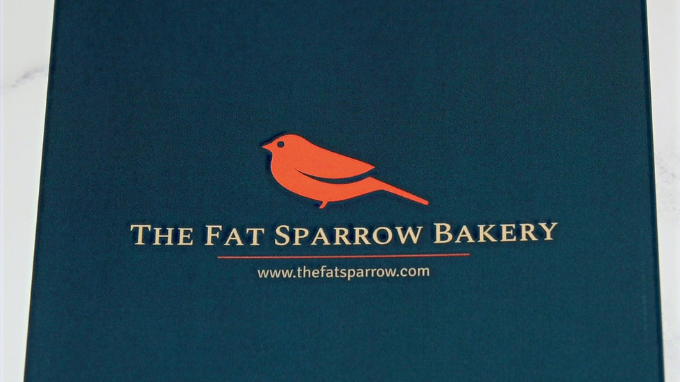 The Fat Sparrow Bakery Note Card