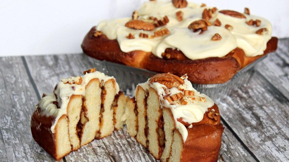 Pecan Cinnamon Swirls