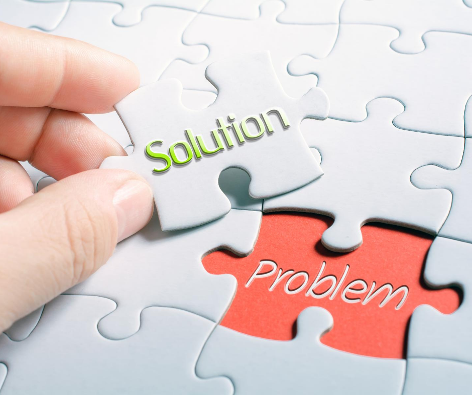 selling the solution will make you stand out from competitors