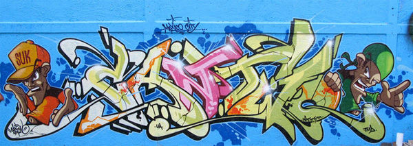 Can two Graffiti México