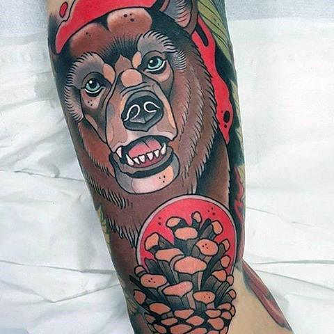 Tatuaje Neo Tradicional México