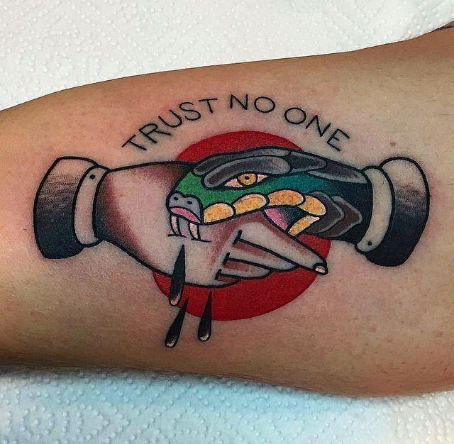 Tatuaje tradicional americano México