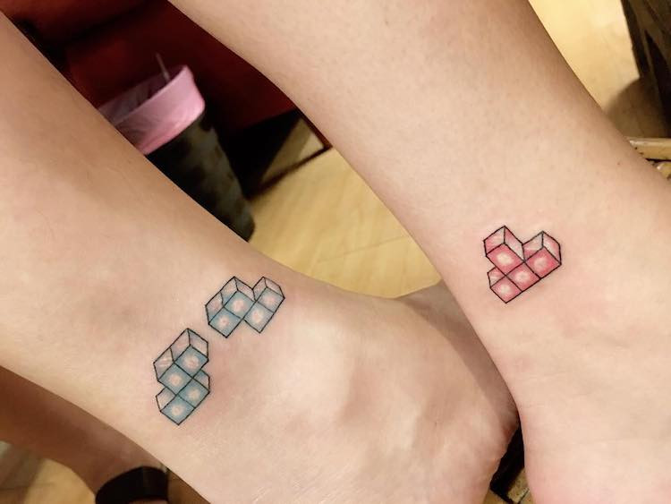 Tatuaje para parejas en México