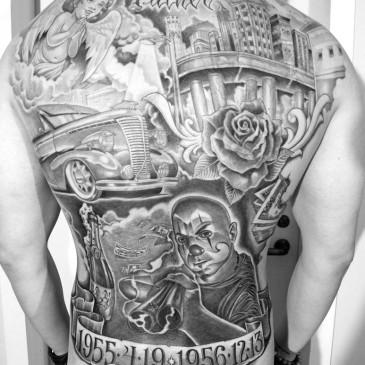 Tatuaje Chicano México