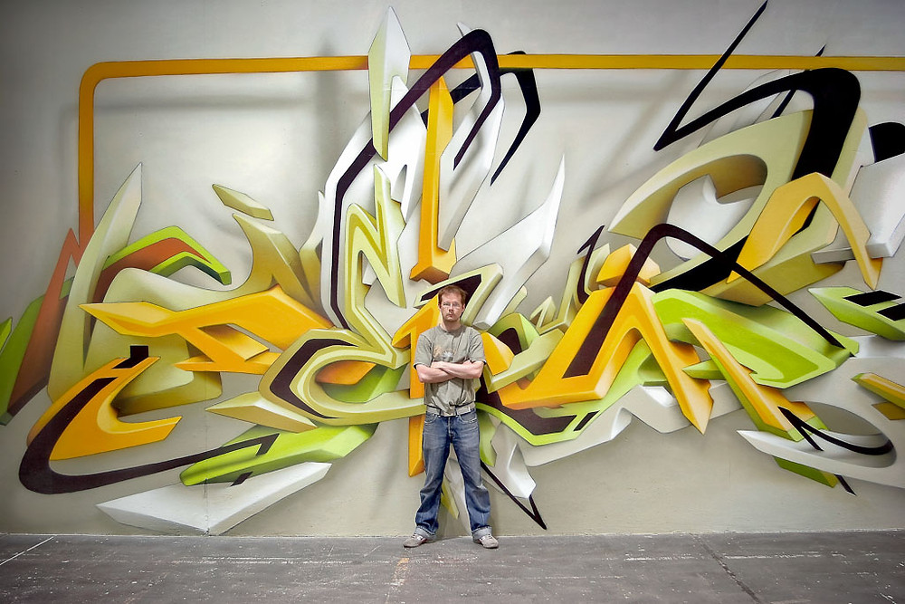 Daim Graffiti 3D México