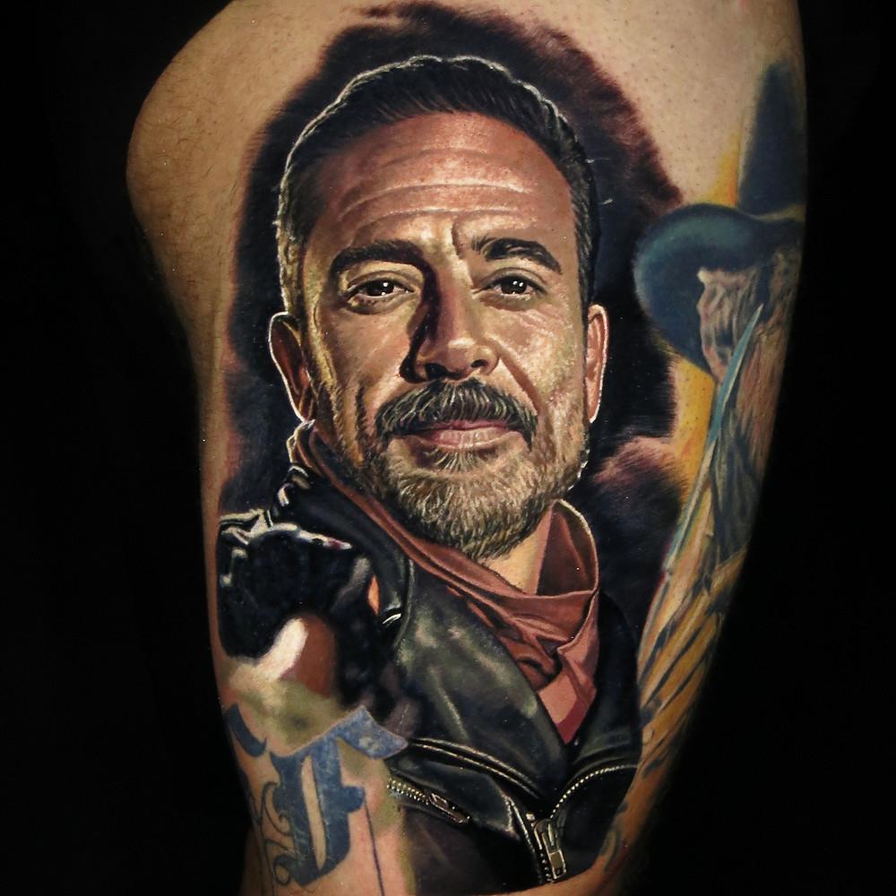 Tatuaje realista a color México
