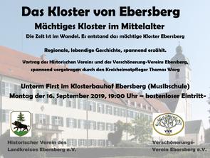 Vortrag - Das Kloster von Ebersberg