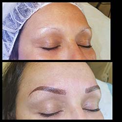 Permanent eyebrows#combinationbrows