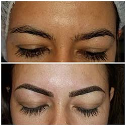 Permanent eyebrows combination
