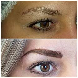 Combination eyebrows Flawless Glo