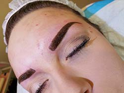 #combination brows Permanent Eyebrow