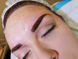 #combination brows Permanent Eyebrow