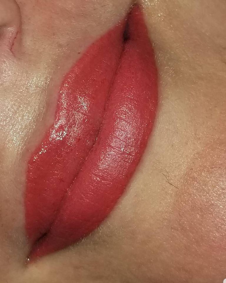 Permanent makeup lips Gr. Jct. CO