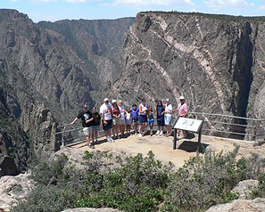 View point Black Canyon of the Gunnison