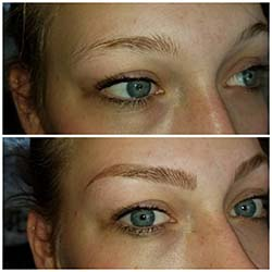 Hairstroke only eyebrows