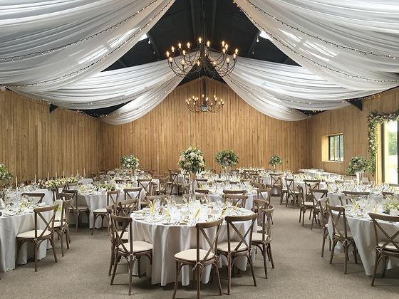 Uniquie wedding setting
