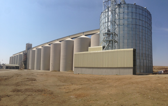 Vrede : Grain Silos