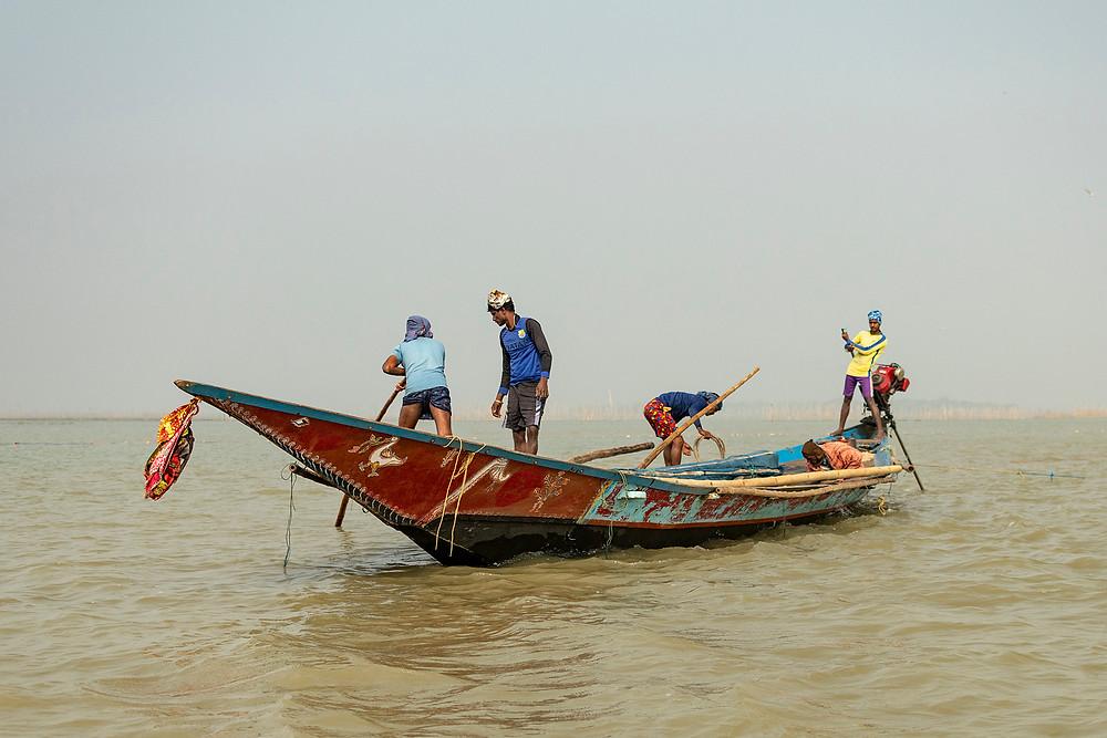 Fishermen Chilika
