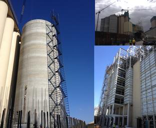 Malmesbury : Silos & Mill Building