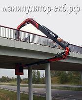 Манипулятор с гуськом на мосту