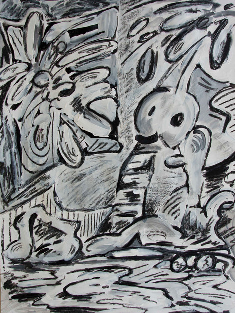 Tribute to Guston