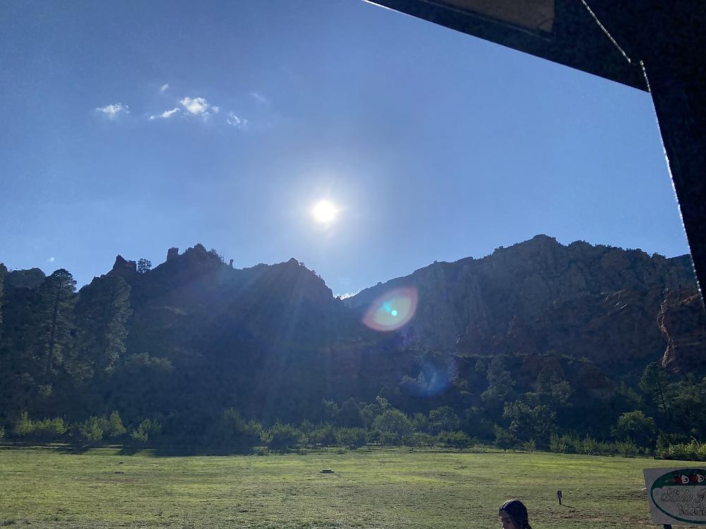アリゾナの朝日