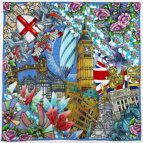 London Silk Scarf