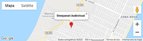 Map - Sinequanari Audiovisual