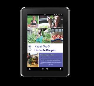 katie's top 5 recipes - ebook for websit