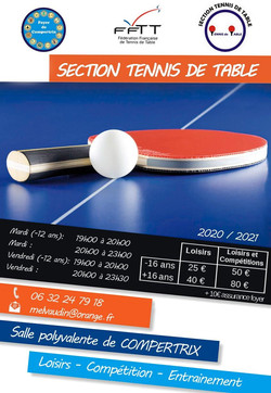 Flyer tennis de table